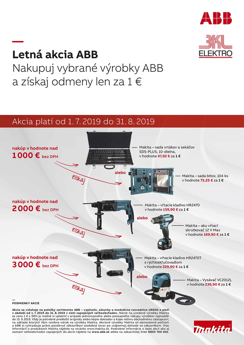 BKL ELEKTRO - Letná akcia ABB 2019