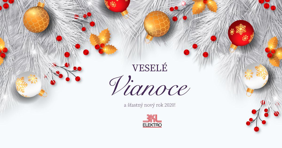 BKL ELEKTRO - Ďakujeme za prejavenú dôveru v uplynulom roku a do nového roka 2020 Vám prajeme Vám Veselé Vianoce a šťastný nový rok 2020